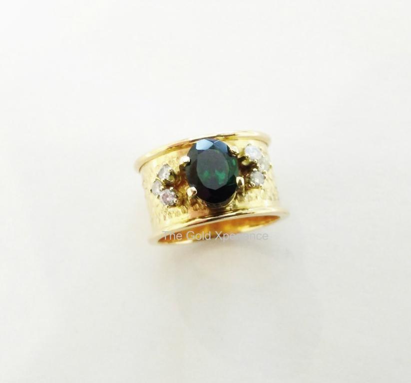 Ring-The Gold Xperience - handgemaakt
