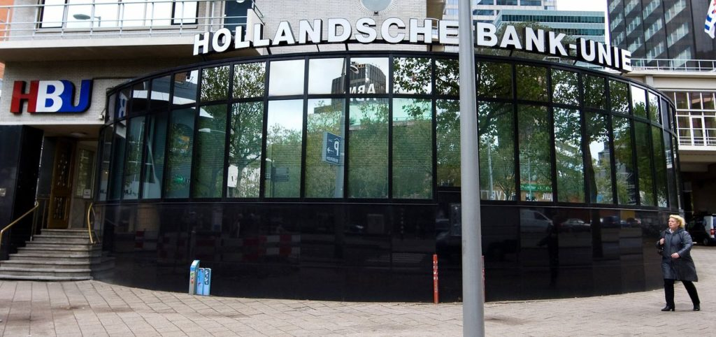 Hollandsche Bank Unie, Foto Koen Suyk/ANP