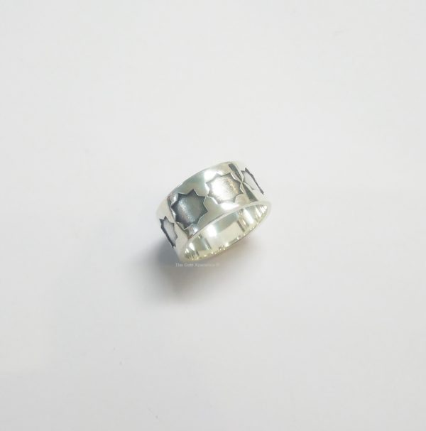 Zilveren ring Cordoba