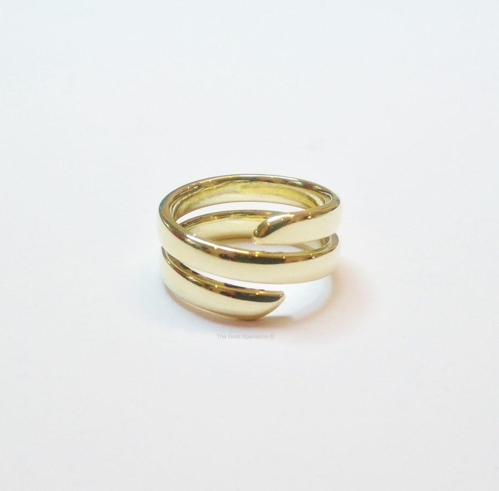 Gouden Ring wikkelring goud