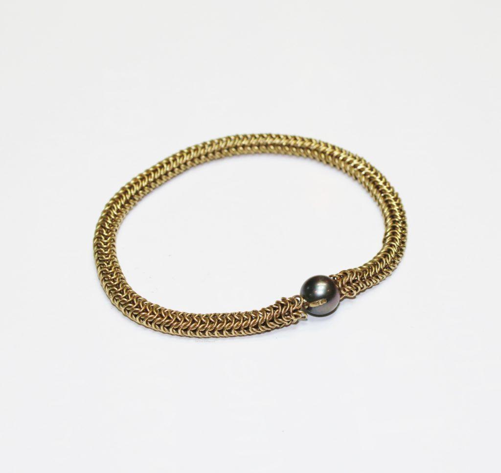 Gouden Armband Maxima parel